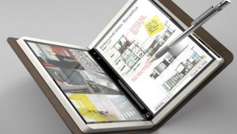tablet plegable microsoft
