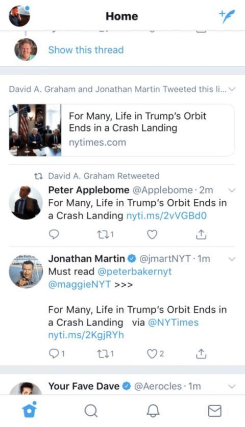 noticias de twitter