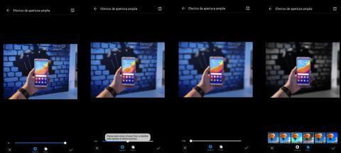Huawei P20 modo apertura