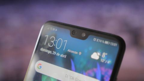 Huawei P20 Pro - cámara frontal