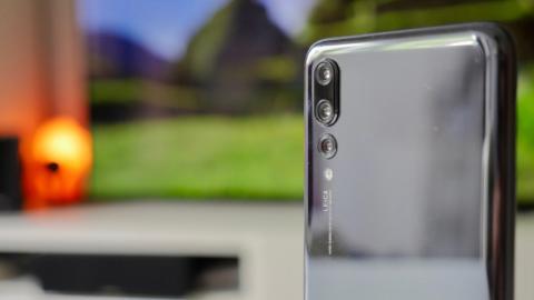 Huawei P20 Pro - trasera