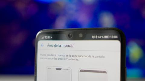 Huawei P20 Pro - notch oculto