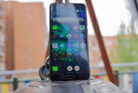 Huawei P20 Pro - pantalla exteriores