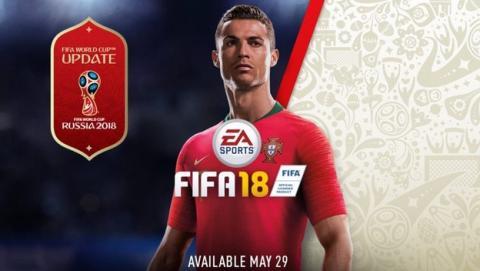 FIFA 18 se actualiza gratis con el Mundial de Fútbol Rusia 2018