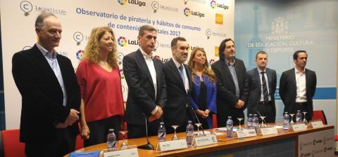 Se revelan los datos de la piratería en España en 2017