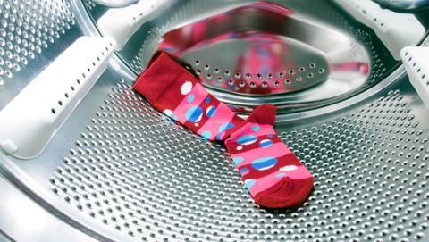 lavadora come calcetin