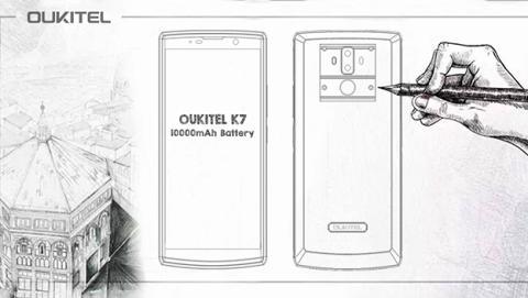 Oukitel K7, nuevo diseño con más de una semana de batería