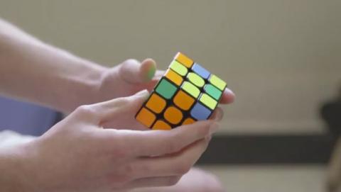 Nuevo récord del mundo cubo Rubik
