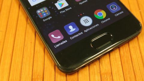 Huawei P10 barra de navegación