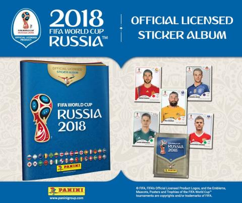 Álbum de cromos del mundial de Rusia