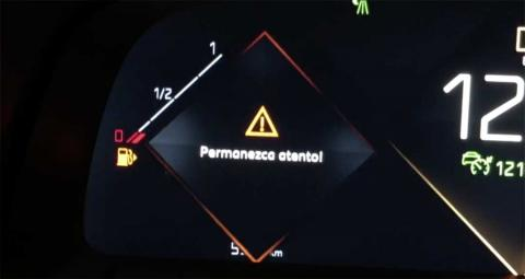 Alerta de DS Driver Attention Monitoring