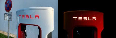 Así son los cargadores para coches eléctricos de Tesla