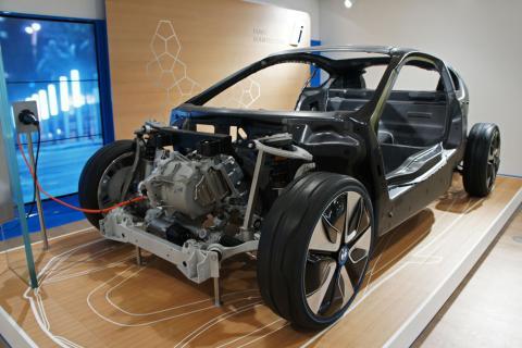 Baterías reemplazables coche eléctrico