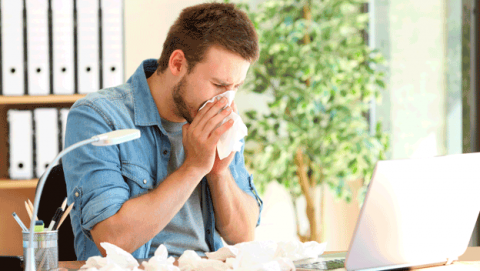 Beneficios poner aire acondicionado cuando tienes alergia