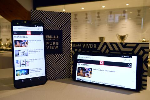 Blu Vivo X y Pure View