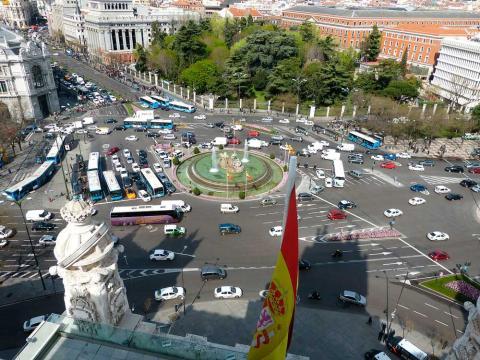 Coches en Madrid