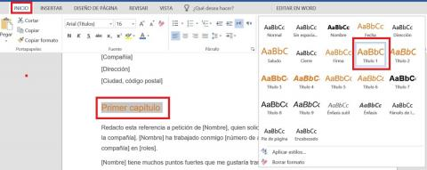 Tutorial de Word