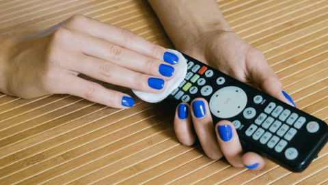 Como limpiar mando a distancia