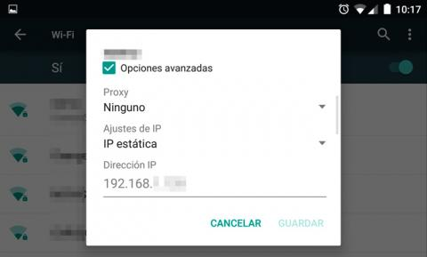 conocer ip en android alternativo