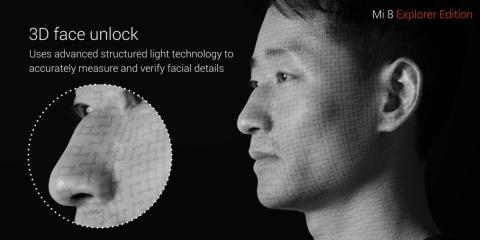 Desbloqueo facial Xiaomi Mi 8