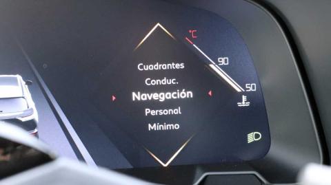 Los diferentes modos de vista del navegador de este coche de DS