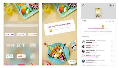 Emoji Slider Instagram Stories