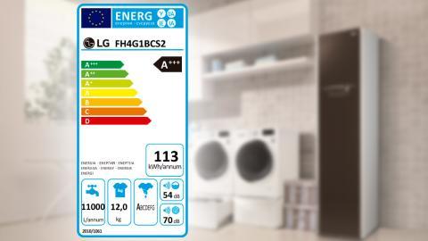 Etiqueta energética de los electrodomésticos