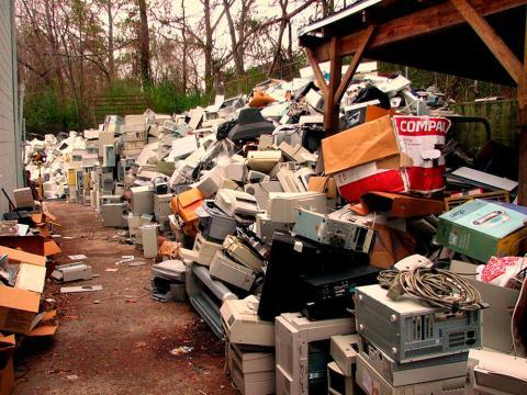 Europa envía basura electrónica a Nigeria