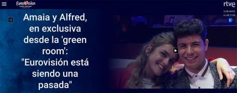Eurovisión en TVE