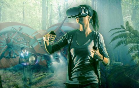 Gafas VR de realidad virtual y extendida Qualcomm Snapdragon XR1