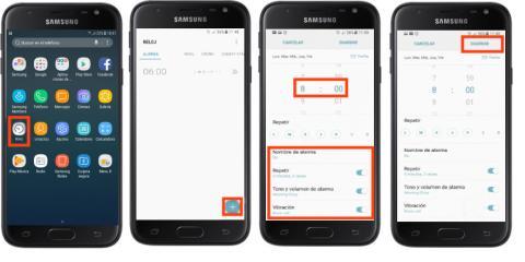 Alarma Calendario Samsung.Samsung Galaxy J7 2017 Como Configurar Una Alarma