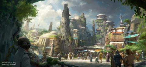 Galaxy's Edge, el parque de atracciones de Star Wars