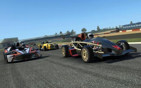 Juegos de coches para Android - Real racing 3