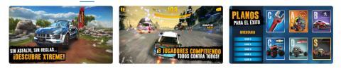 Juegos coches iPhone