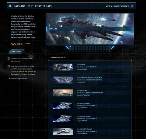 The Legatus Pack Star Citizen