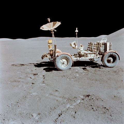 Lunar Rover en la misión Apolo