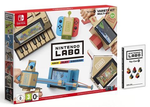 Nintendo Labo Toy Con 01 Caja