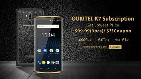 Promo Oukitel K7