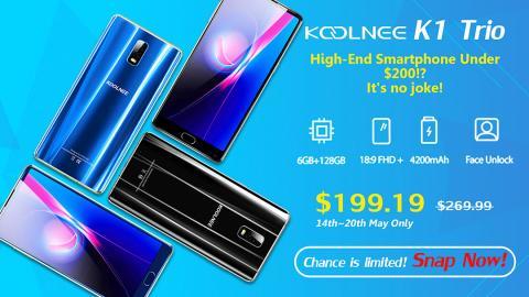 Promoción Koolnee K1 Trio