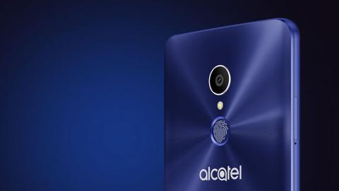 Sensor de huellas dactilares Alcatel