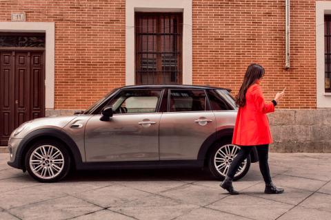 El servicio de coche compartido de Mini