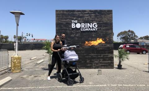 Lanzallamas The Boring Company