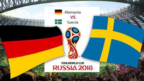 Alemania vs Suecia