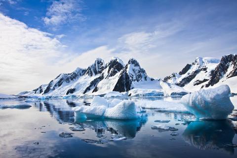 antártida, hielo