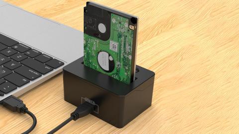 Bases de conexión para discos duros