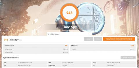 Benchmark Mi Laptop Air