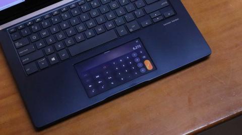 Calculadora en el ScreenPad