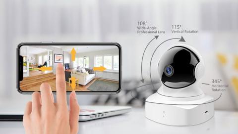 Cámara vigilancia 360