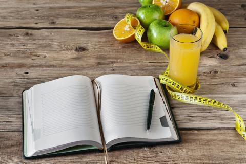 diario de dieta