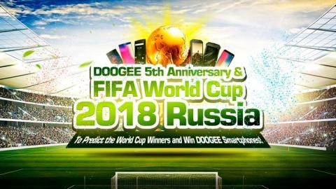 Doogee Mundial Rusia 2018